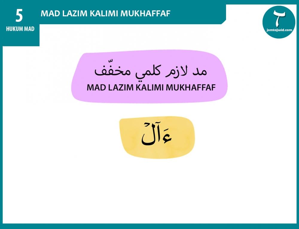 Mad Far'i – Mad Lazim Kalimi Mukhaffaf
