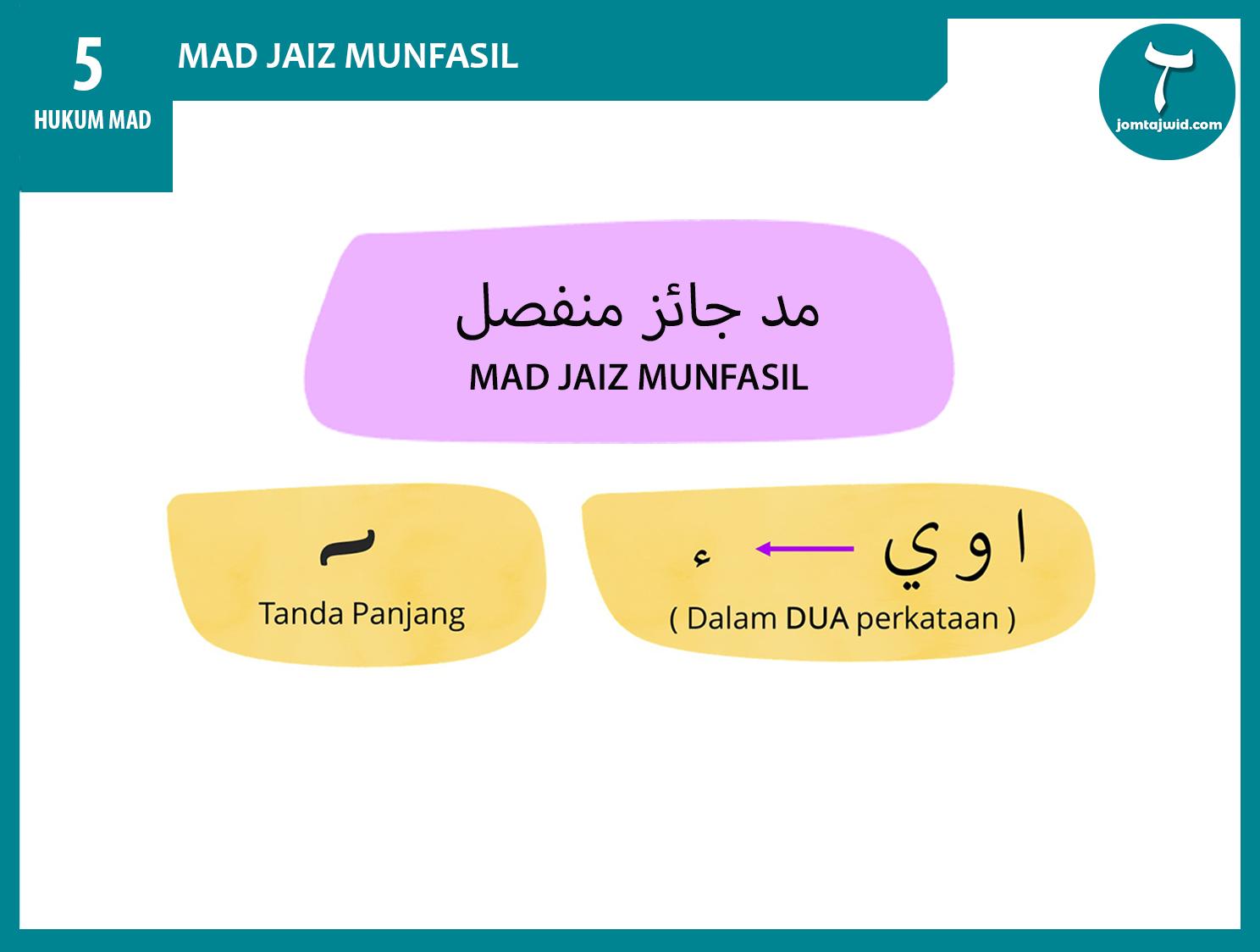 JomTajwid - Hukum mad jaiz munfasil 4 (Feature) new 2