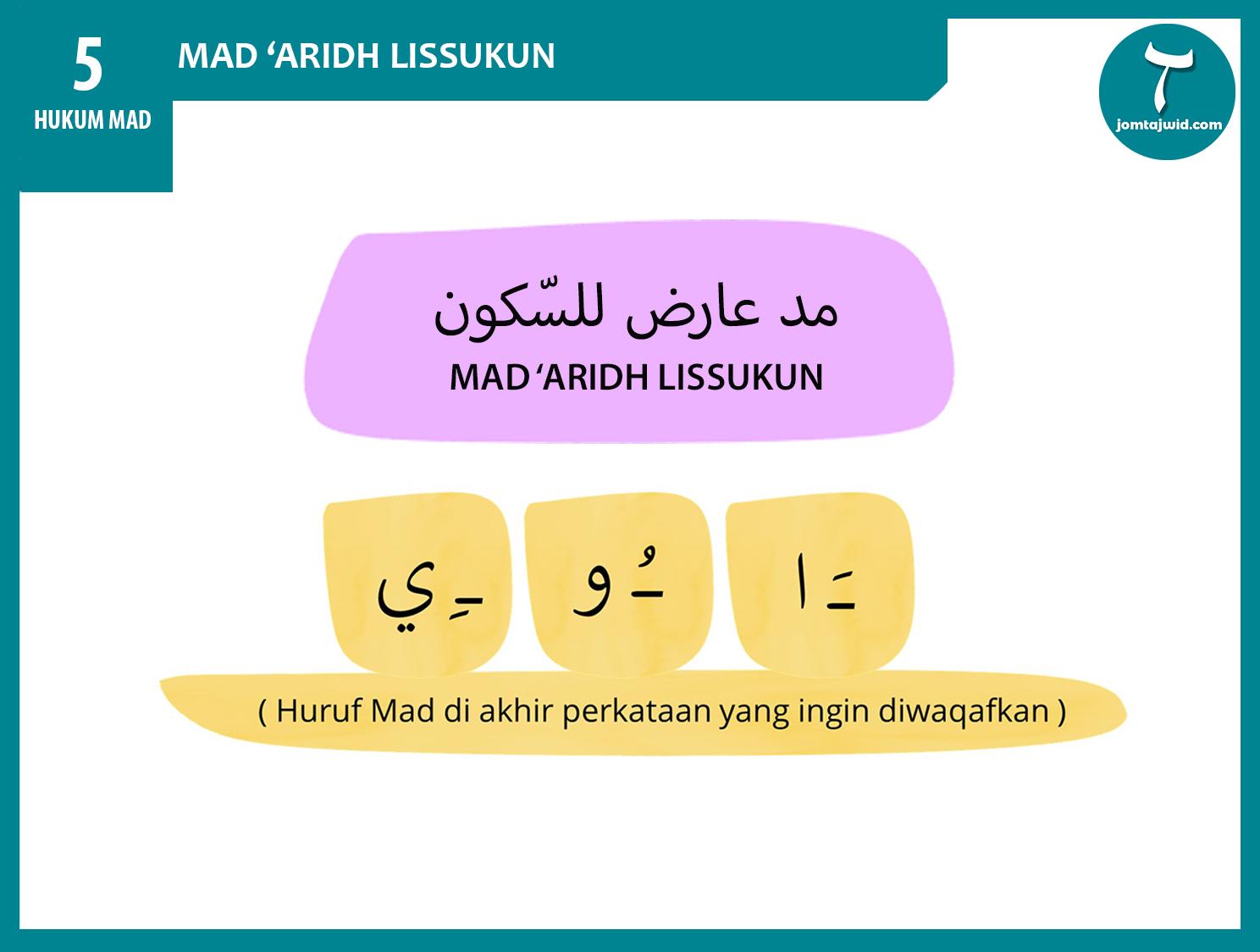 JomTajwid - Hukum mad aridh lissukun 7 (Feature) new 2