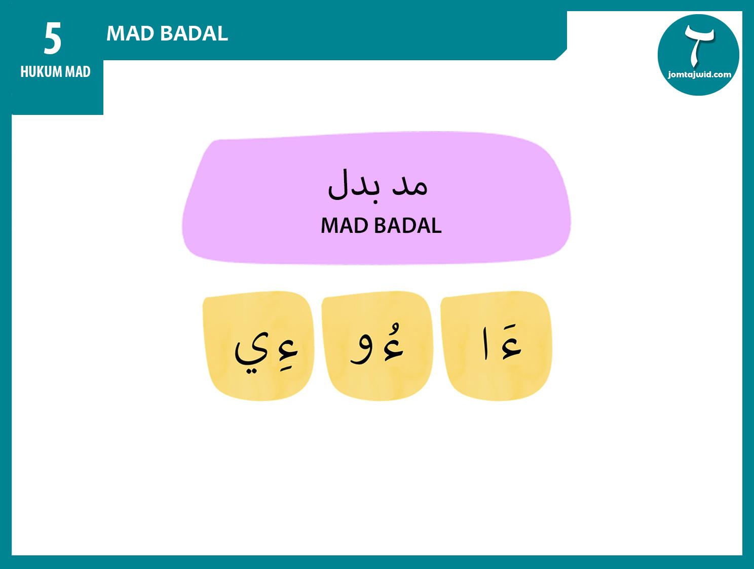 JomTajwid - Hukum mad badal 9 (Feature) new 2